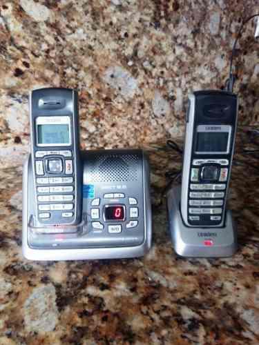 Telefono Inalabrico Con Contestadora Y Auxiliar