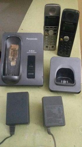 Telefono Inalambrico Con Un Auxiliar