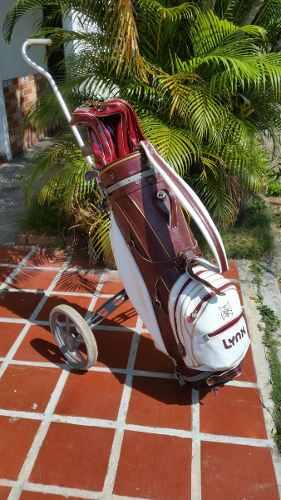 Vendo Equipo De Golf Completo Con Maleta Y Carrito