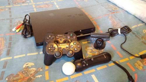 Vendo O Cambio Playstation 3+move Por Ps4 Mas Diferencia