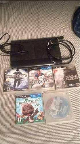 Vendo O Cambio Ps3 Super Slim De 250gb