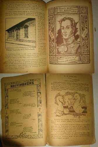 Articulo X -escojes 3 Pagas 2 - Libro Antiguo De Venezuela