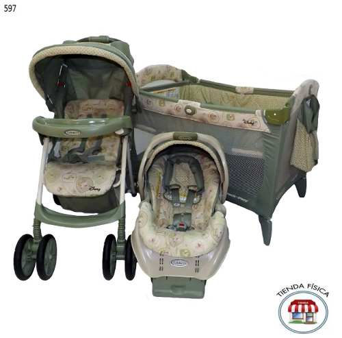 Corral Graco Coche Y Portabebe Impecable.-
