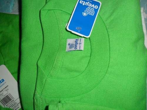 Franelas Ovejitas Color Verde Manzana