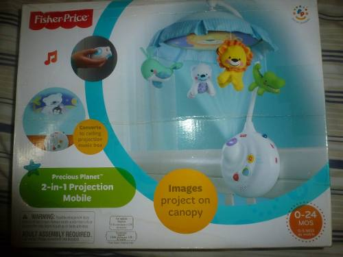 Mobile Para Cuna Fisher Price 2-in-1 Projection Mobile
