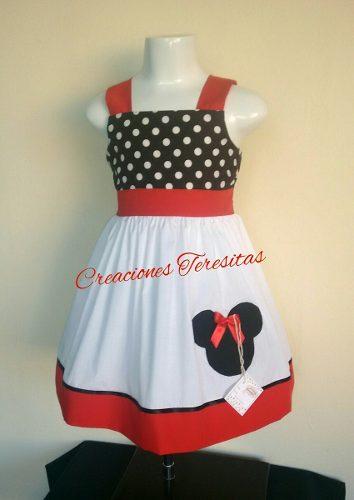 Oferta Vestidos De Niñas Con Motivo De Minnie