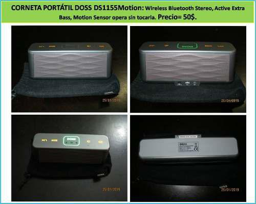 Bluetooth Corneta Portatil Elegante Doss Ds1155