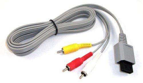 Cable Audio Y Video Nintendo Wii
