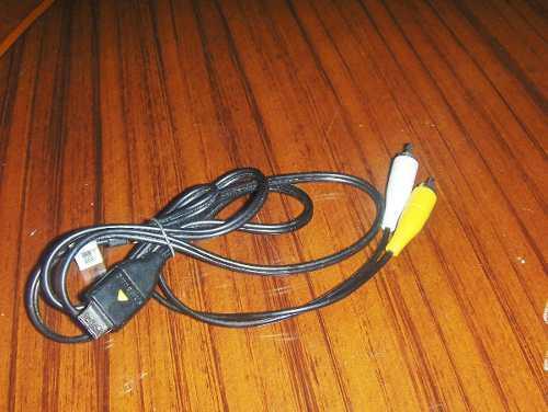 Cable De Audio & Vídeo De Camara Digital Samsung