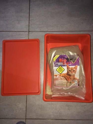 Caja De Arena (incluye 5kg De Arena Vio Cara)