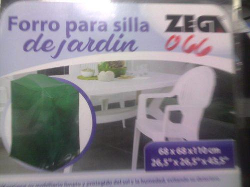 Forro Protecor Para Silla De Jardin Zega