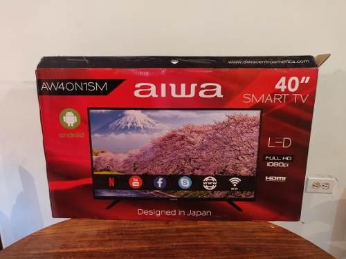 Televisor De 40 Pulgadas Aiwa Led Smart Tv Nuevo Sellado