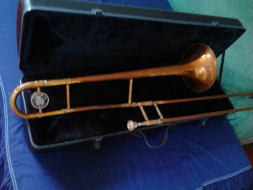 Trombon De Vara Modelo 3b Marca King (usa)