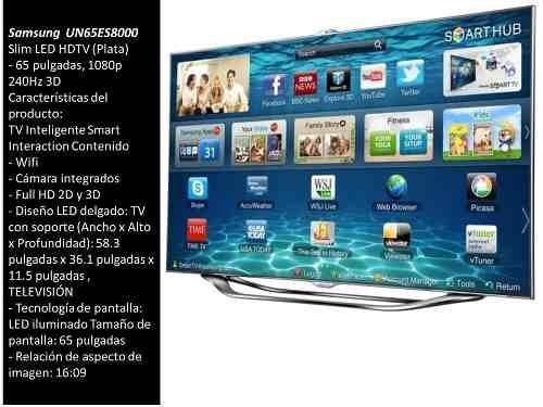 Tv Samsung Smart 65 +hometheater+teclado+10lentes3d Oferta!!