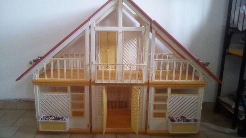 Casa De La Barbie Usada Mattel