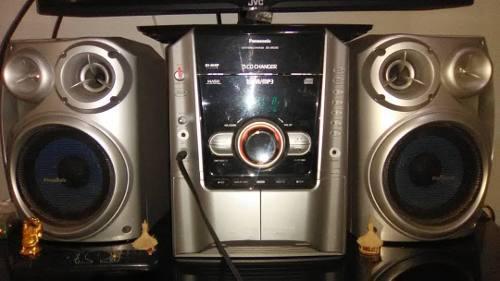 Equipo De Sonido Panasonic 5 Cd Changer 2000watts