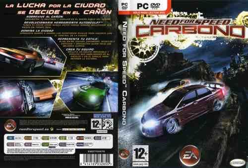 Juego De Pc Need For Speed Carbono Digital