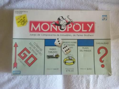 Juegos De Mesa, Monopoly, Subasta Y Sospecha