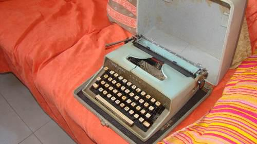 Maquina De Escribir Antigua Remington Travel-riter