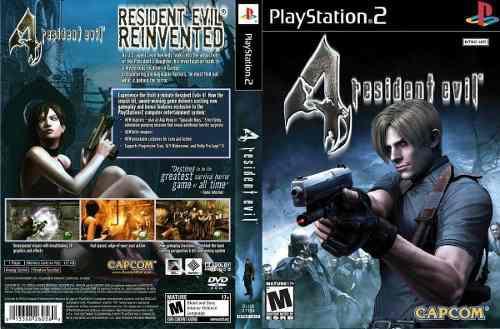 Resident Evil 4 Para Ps2