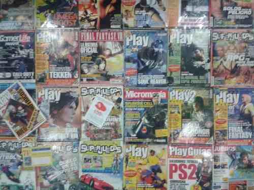 Revistas De Videojuegos Combo De 25 Revistas