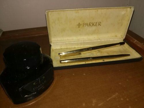 Bolígrafo Y Pluma Fuente Parker