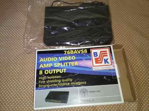 Duplicador De Video Y Audio, Hasta En Ocho Monitores, Nuevo