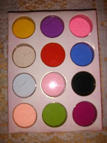 Estuche De 12 Polvos Acrilicos De Colores Para Decorar Uñas
