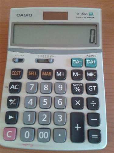 Calculadora Casio Df-120ms 12 Digitos