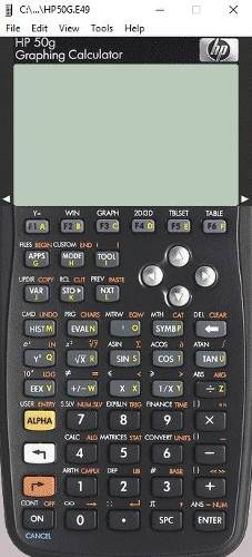 Calculadora Cientifica Ingeniero Hp 50g (emulador)