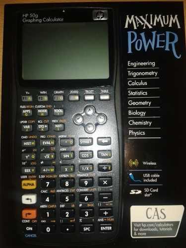 Calculadora Hp 50g Graficadora (nueva)