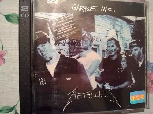 Cd's De Metallica Garage Inc Y Justice For All Made In U.s.a