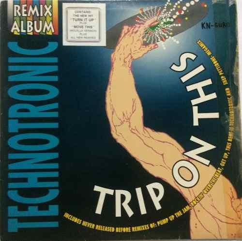 Disco Vinyl Importado: Technotronic Remix Album