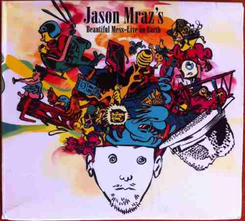 Jason Mraz's. Beautiful Mess - Live On Earth. Cd Original