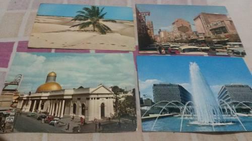 Postales De Caracas Antiguas De Coleccion