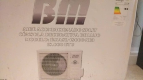 Aire Acondicionado Split De  Btu
