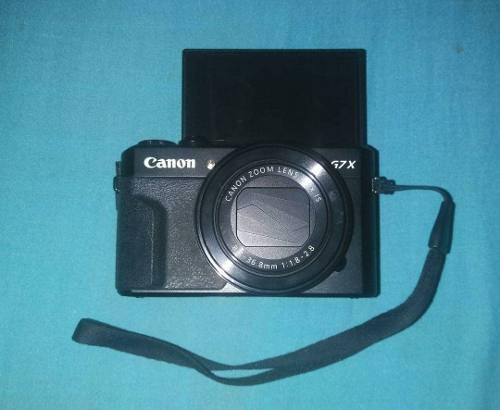 Camara Canon G7 X Mark Ii + Asesorios + 2 Tripodes + Bolso