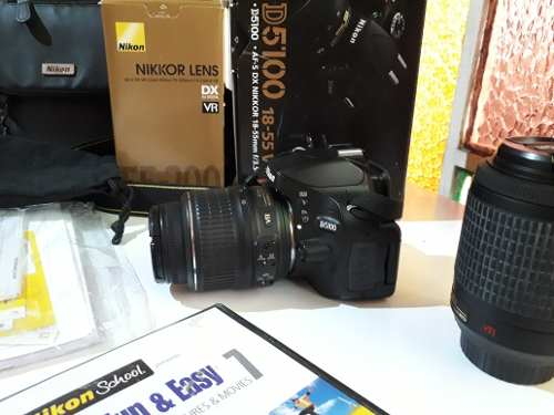 Camara Nikon D. Con Todos Sus Accesorios