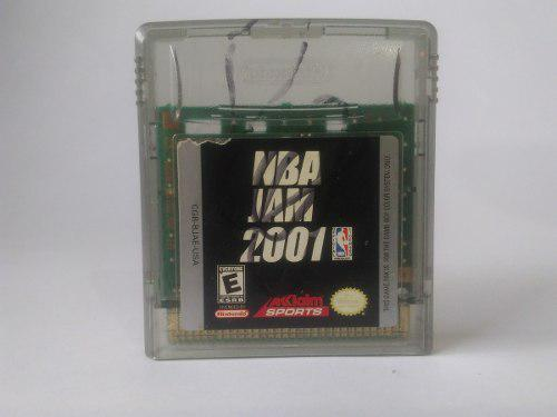 Cartucho Game Boy Color Nba Jam 2001
