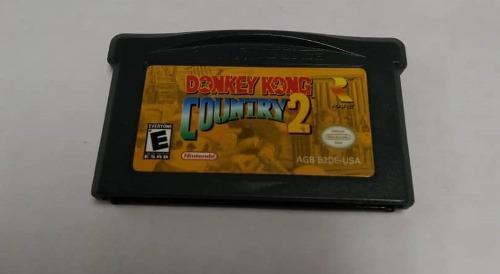 Juego Donkey Kong Country 2 Para Game Boy Advance