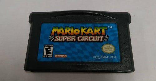 Juego Mario Kart Super Circuit Para Game Boy Advance