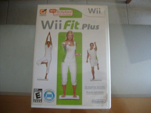 Juego Para Wii Fit Plus Original