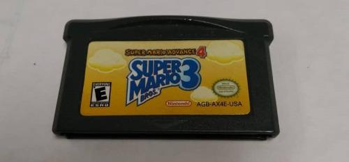 Juego Super Mario Advance 4 Para Game Boy Advance