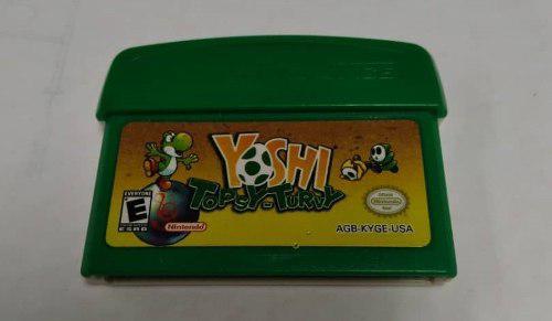 Juego Yoshi Tupsy Turvy Para Game Boy Advance