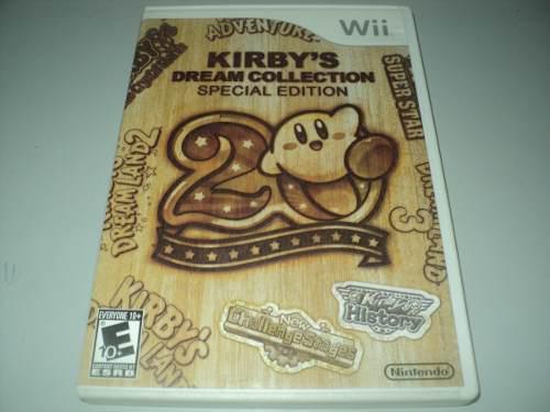 Kirby's Dream Collection Edición Especial Wii