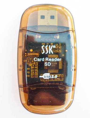 Lector De Memoria Sdhc Sd Micro Sd Xd, Ms Led Tipo Pendrive
