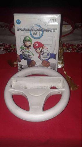 Mario Kart Wii Con Volante