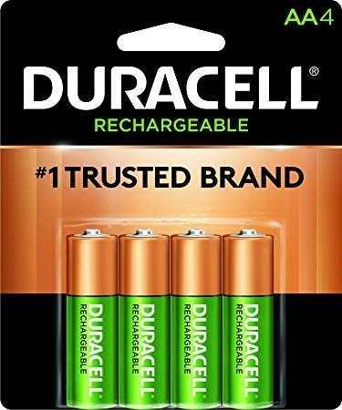 Pilas, Baterias, Duracell Aa Recargables, Importadas Y Orig