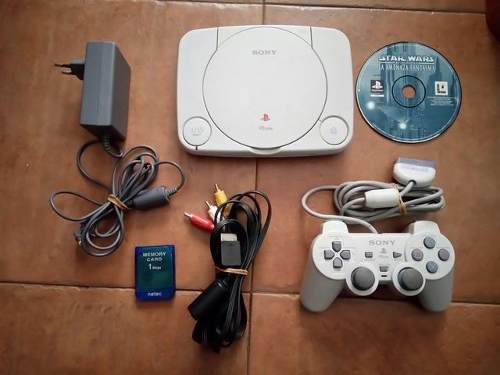 Playstation 1 (psone) + Controles + Juegos