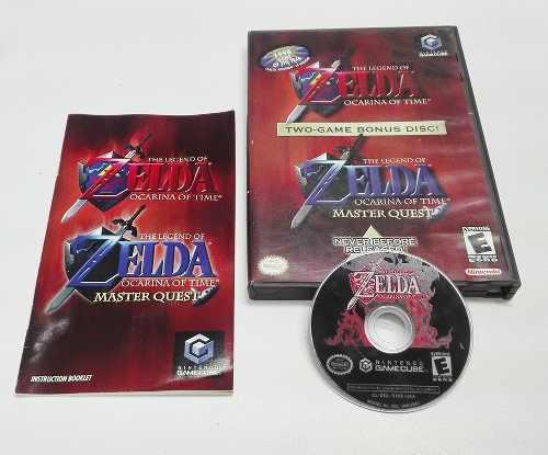 The Legend Of Zelda Ocarina Of Time Gamecube 100% Ok